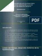 1 Epidemiologia, Historia, Funciones Epi 2016