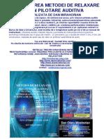 Prezentarea Metodei de Relaxare Pilotata Creata de Mirahorian
