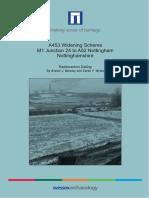 A453 Widening Scheme, Radiocarbon Dating