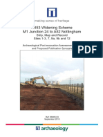 A453 Widening Scheme, Site 1-3, 7, 9a, 9b and 12, Assessment Report