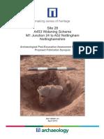 A453 Widening Scheme, Site 28, Assessment Report