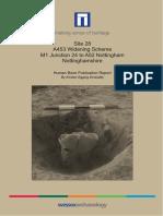 A453 Widening Scheme, Site 28, Human Bone