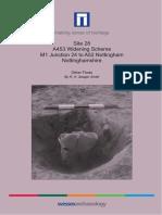 A453 Widening Scheme, Site 28, Other Finds