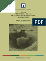 A453 Widening Scheme, Site 28, Pottery