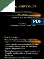 M. Satya Bhisma - Presentasi Drop Hand / Radial Nerve Palsy
