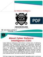 Cyber Defence Intelligence- (CDI)