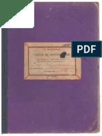 Cartea de protocoale ale sesiunilor Sovetului sătesc al deputaților truditorilor din s. Sturzeni al raionului Rîșcani pe anii 1955-1956