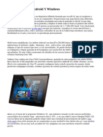 Adquirir Tablets Android Y Windows