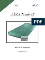 Alpha Transcell - Manual de Recambios