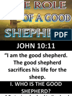 The Role of a Good Shepherd Mentoring Apostle Abraham 101415