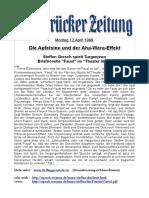 Steffen Gresch spielt FAUST von Turgenev