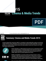 Cinema and Media Trends 2015