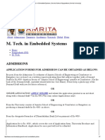 M. Tech ESD syllabus