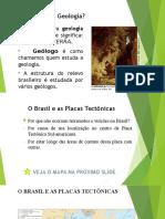 Estrutura Geologica e Mineração No Brasil