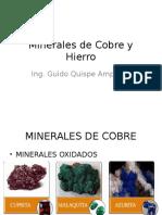 2 .1 Minerales de Cobre y Hierro