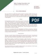 Fetal Hydronephrosis PDF 1