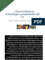 Aspectos Económicos , Mineralogía y Propiedades Del Cu