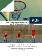 Basketball-Zwei Trainingsmethoden zur Verbesserung der Treffsicherheit im Vergleich