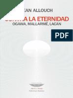 Contra La Eternidad_ Ogawa, Mal - Allouch, Jean(Author)