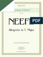 021 Neefe Allegretto in C Major
