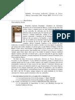 Resena a Fernando Carmona Pervivencias Medievales