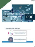 FUNAMENTOS DE GENETICA Y HERENCIA HUMANA
