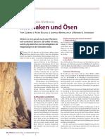 Die Physik Des Kletterns, Physik i. u. Zeit 2001, 32, 62-68
