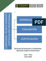 Compendio Técnico Normativo DEC ESU