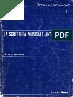 Massaro - La Scrittura Musicale Antica