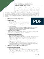 Certified Biomedical Auditor (CBA) BOK