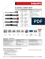 Technical Data Sheet for HSL-3 Heavy Duty Anchor Technical Information ASSET DOC 2331111