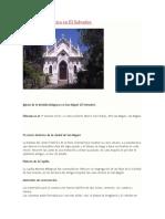 Arquitectura Gotica en El Salvador