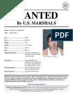 U.S. Marshals seek accused rapist