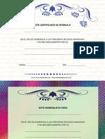 Certificados Dia de La Edad Avanzada
