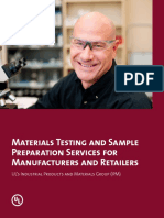 Materials Testing and Sample Preparation Services