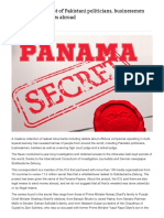 Panama Papers_ List of Pakistani Politicians, Businessmen Who Own Companies Abroad _ Pakistan Today