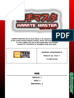 Karate Master Kdb Manual Eng