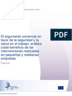 Analisis Costo-beneficio Intervención SST PYMES-ES