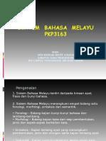 PKP3163 SISTEM BAHASA MELAYU morfologi kuliah 1.ppt
