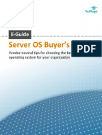 SERVER OS BUYERS GUIDE