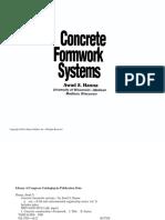 Concrete Formwork Systems