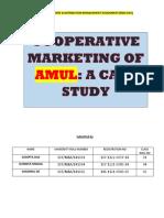 AMUL-A successful Coopertive Marketing Strategy