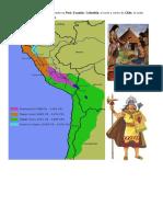 El Imperio Inca Ocupó Lo Que Actualmente Es