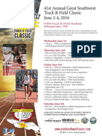 GSW Athletes Packet 2016 PRF