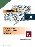 Ingles 1 - Estructuras Gramaticales Básicas - 2015