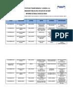 Informe de Resultados en Giras 2016