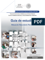 Guia Promocion Director Secundaria 2016