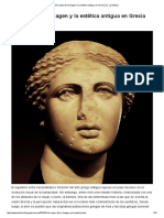 El Origen de La Imagen y La Estética Antigua en Grecia (II)