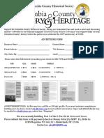 History&Heritage 2016 Rates