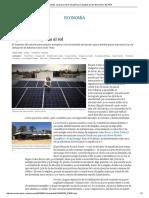 """Impuesto Placas Solares En España, ECONOMÍA, El País """"España da al sol"""""""